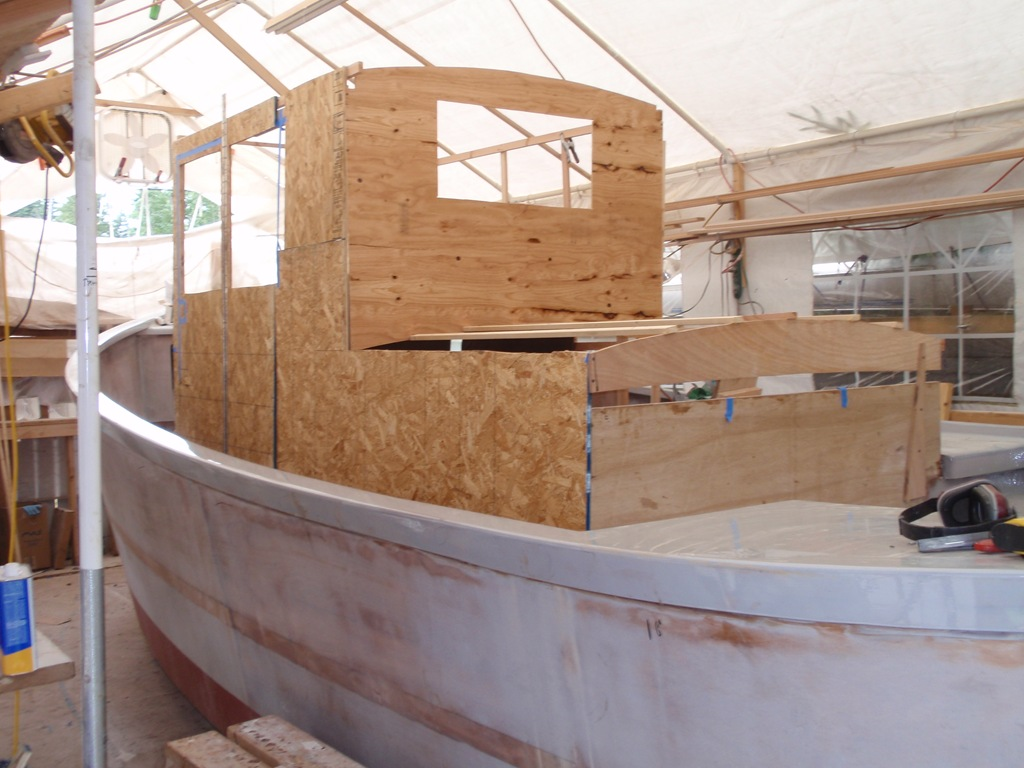 Cabin mockup boatbuilding blog for Diy small cabin plans
