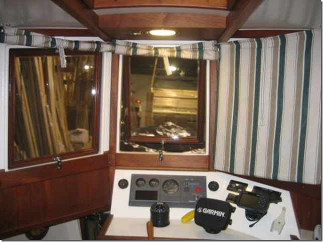 inside pilothouse