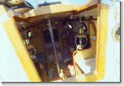 Interior under sail