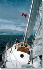 Sailing the Gulf Islands