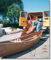 Van and nesting boats