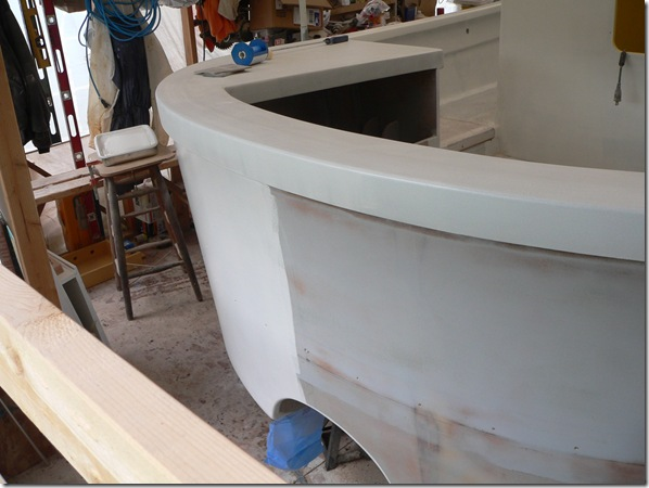 Stern being primed