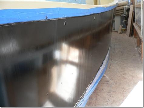 Bad finish on hull
