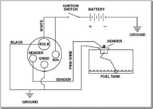 Yamaha Outboard Fuel Sender Wiring - Diagram Data Pre 3 wire fuel sending unit Diagram Data Pre