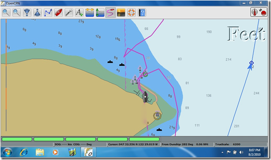 OpenCPN new navigation freeware [Archive] - The WoodenBoat Forum