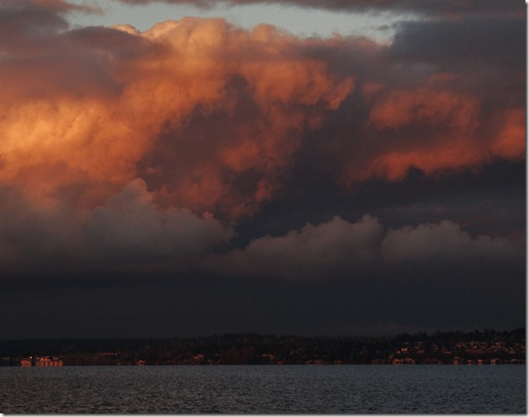 Sunset over Kirkland